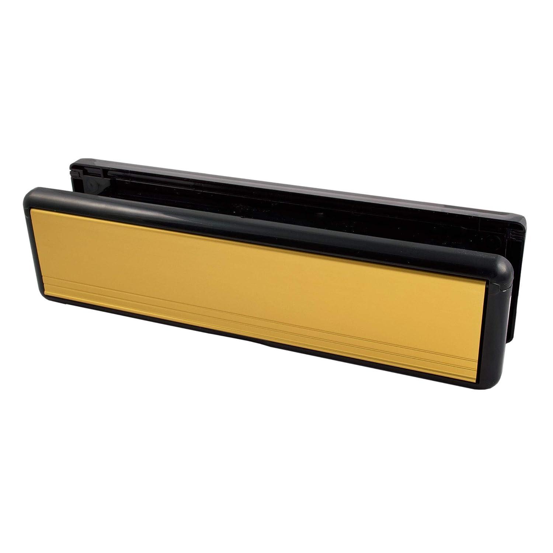 Home Sicherer hs3517 25,4 cm Briefkasten mit Surround für uPVC Türen ...