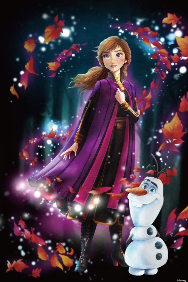 ディズニー アナと雪の女王2 (アナ)  iPhone(640×960)壁紙画像