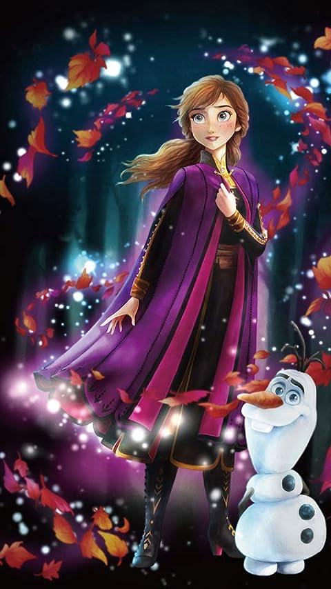ディズニー アナと雪の女王2 (アナ)  XFVGA(480×854)壁紙画像