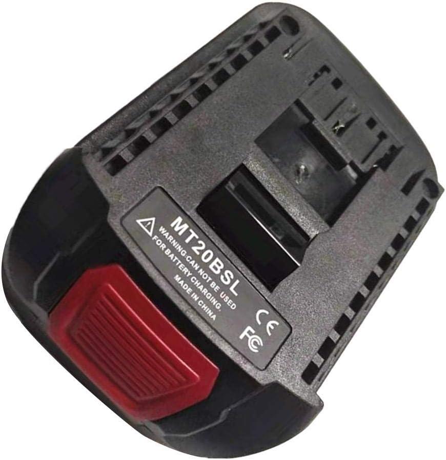 Li-Ion Akku Konverter Adapter Adapter Konverter USB Ladeger/ät Kompatibel F/ür MAKITA BL1830 BL1815 BL1840 BL1850 BL1860 18V