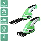 Charles Bentley Garden 3.6V Cordless 2-In-1 Grass Cutter & Hedge Trimmer Hand Held Shear