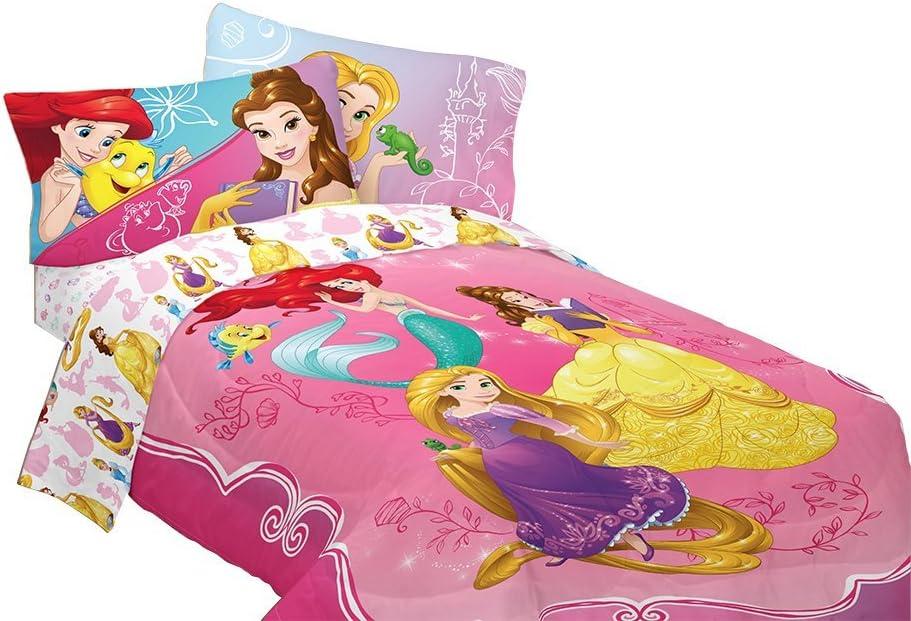 Disney Bedazzling Princess Comforter, Twin/Full