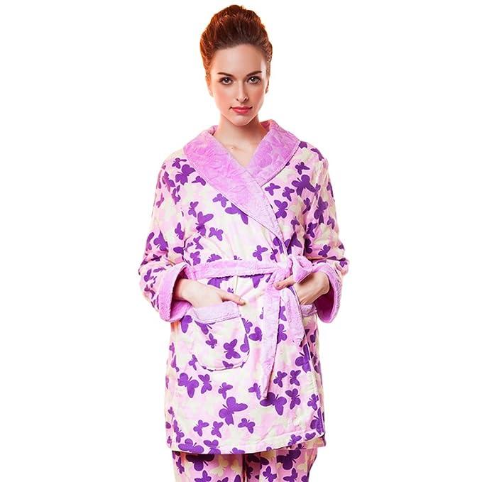 pijamas otoño/invierno de las señoras/ pijamas cómodos/Térmicas transpirables pijamas/Paquetes