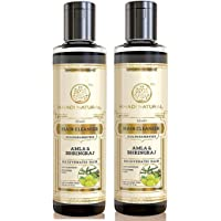 Khadi Herbal Amla & Bhringraj Shampoo- Sls & Paraben Free - 210ml (Set Of 2)