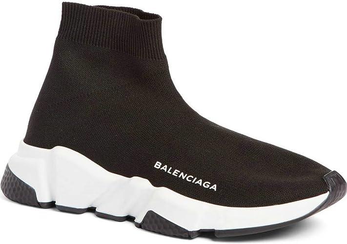 Balenciaga Speed Trainer Sneaker Black White Balenciaga