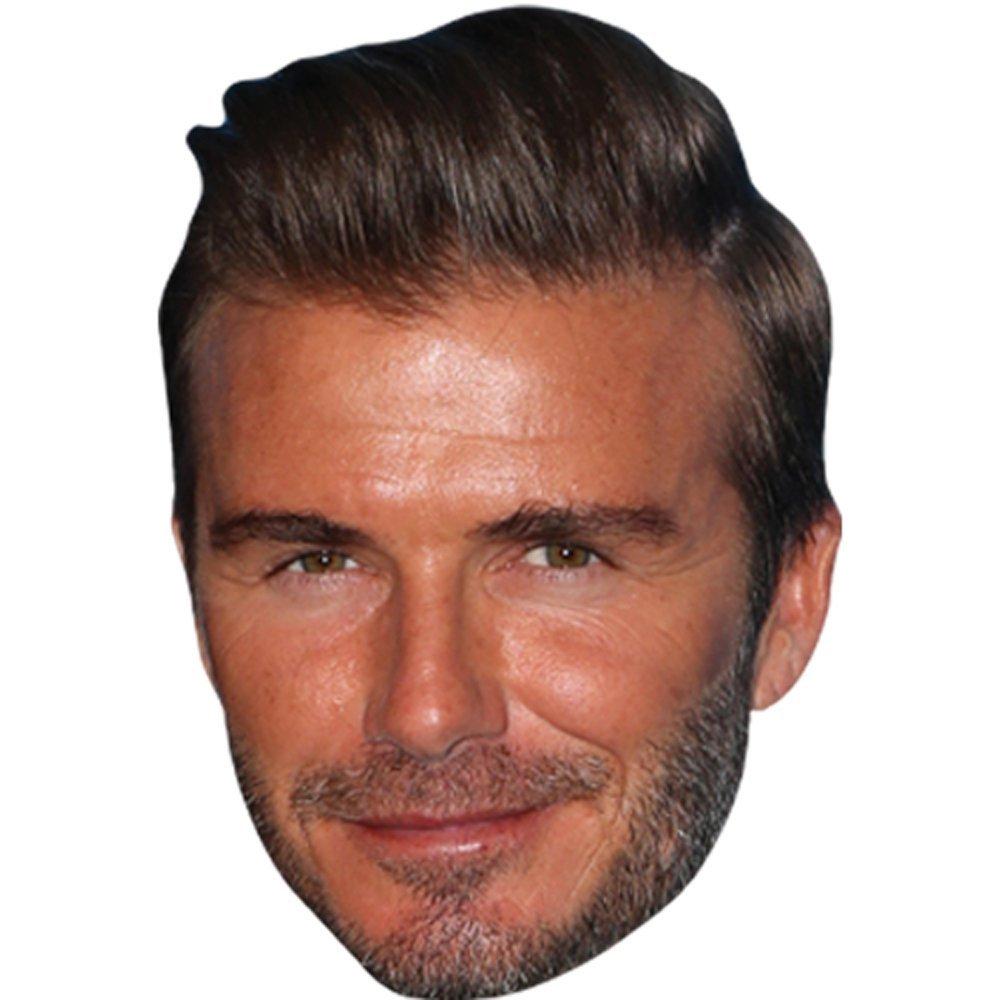Celebrity Mask David Beckham 16 Card Face And Fancy Dress Mask Decorative Accessories Decorative Masks Selectvacationproperties Com