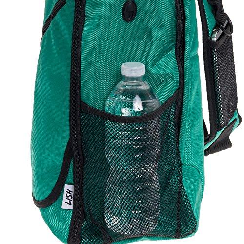 Yoga Backpack by LISH Adjustable Crossbody Yoga Mat Bag for Travel, Hiking, Biking