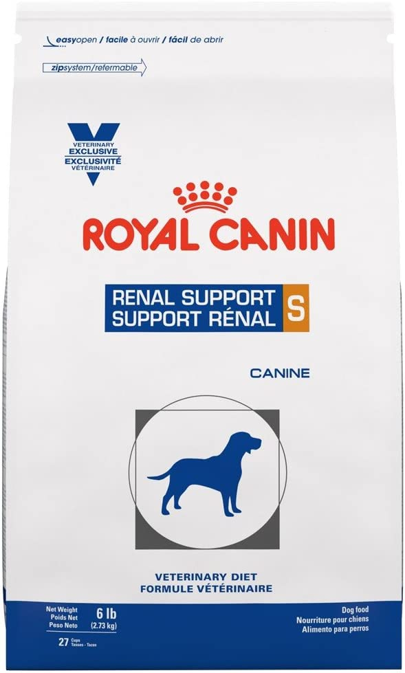 Royal Canin Veterinary Diet Canine Renal Support S Dry Dog Food, 6 lb
