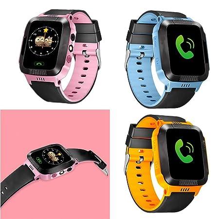 Qiopes Reloj Inteligente Teléfono, Smartwatch para Niños con ...