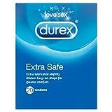Durex Extra Safe Condoms, Pack of 20