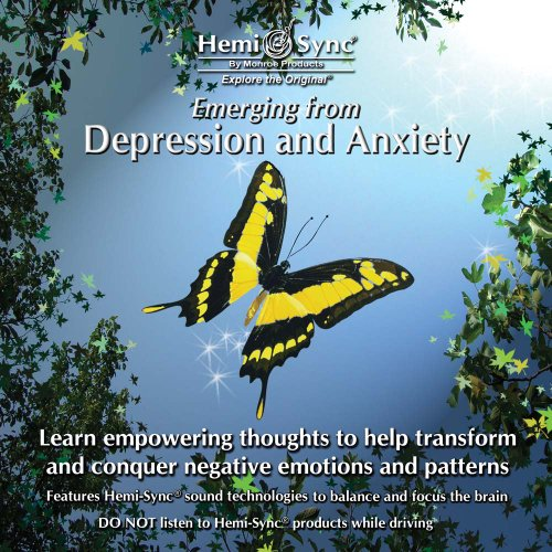 Cd Depression (Emerging from Depression and Anxiety)