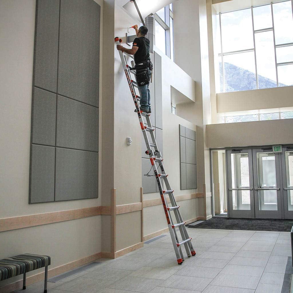 Ala poco gigante escalera Xtreme, multiusos, resistente aluminio, 24 posiciones en una escalera. EN131, Diseñado En Los Estados Unidos: Amazon.es: Bricolaje y herramientas