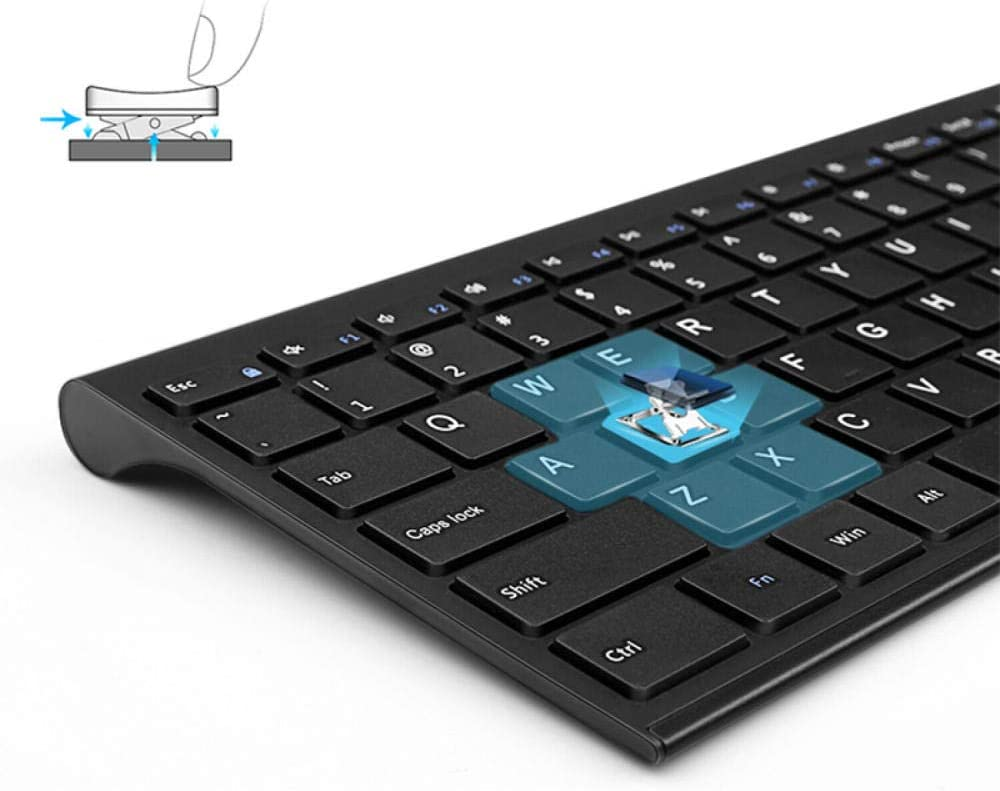 Bluetooth Keyboard for Tablet Mini Bluetooth Keyboard Rechargeable Office Wireless Keyboard Laptop Universal Keypad 3 Charging White 99 Keys