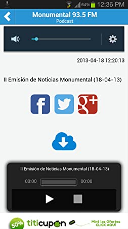 Amazon.com: Radio Monumental(Kindle Tablet Edition): Appstore for Android