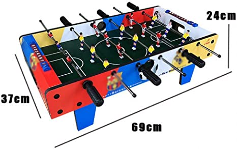 FANCYKIKI Table Football Table Football Machine Juego De Mesa Padre-Hijo Juego Infantil Escritorio Niño Juguete 3-6 Años Regalo (Size : 69 * 37 * 24cm): Amazon.es: Deportes y aire libre
