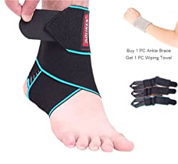 8. Inexpensive Adjustable Ankle Support