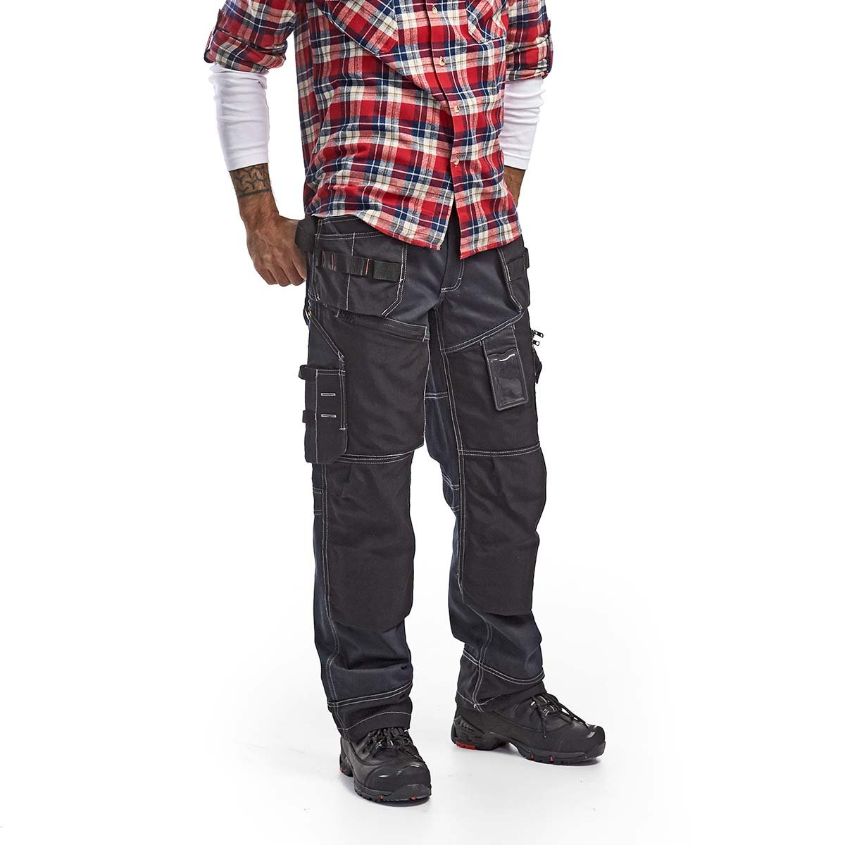 18db16ddf1a Blakläder 150011408999C146 Size C146 Craftsman Trousers - Navy Blue/Black:  Amazon.co.uk: DIY & Tools