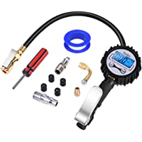 Ymiko 3-in-1 Digital Tire Inflator with Air Pressure Gauge