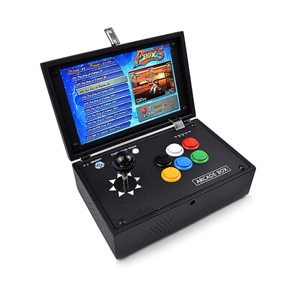 Topaty Portable 10'' Screen 2177 in 1 Arcade Game Machine Retro Console with Arcade Joystick 3.5mm Audio Output Support HDMI Jamma Output by Topaty (Image #2)