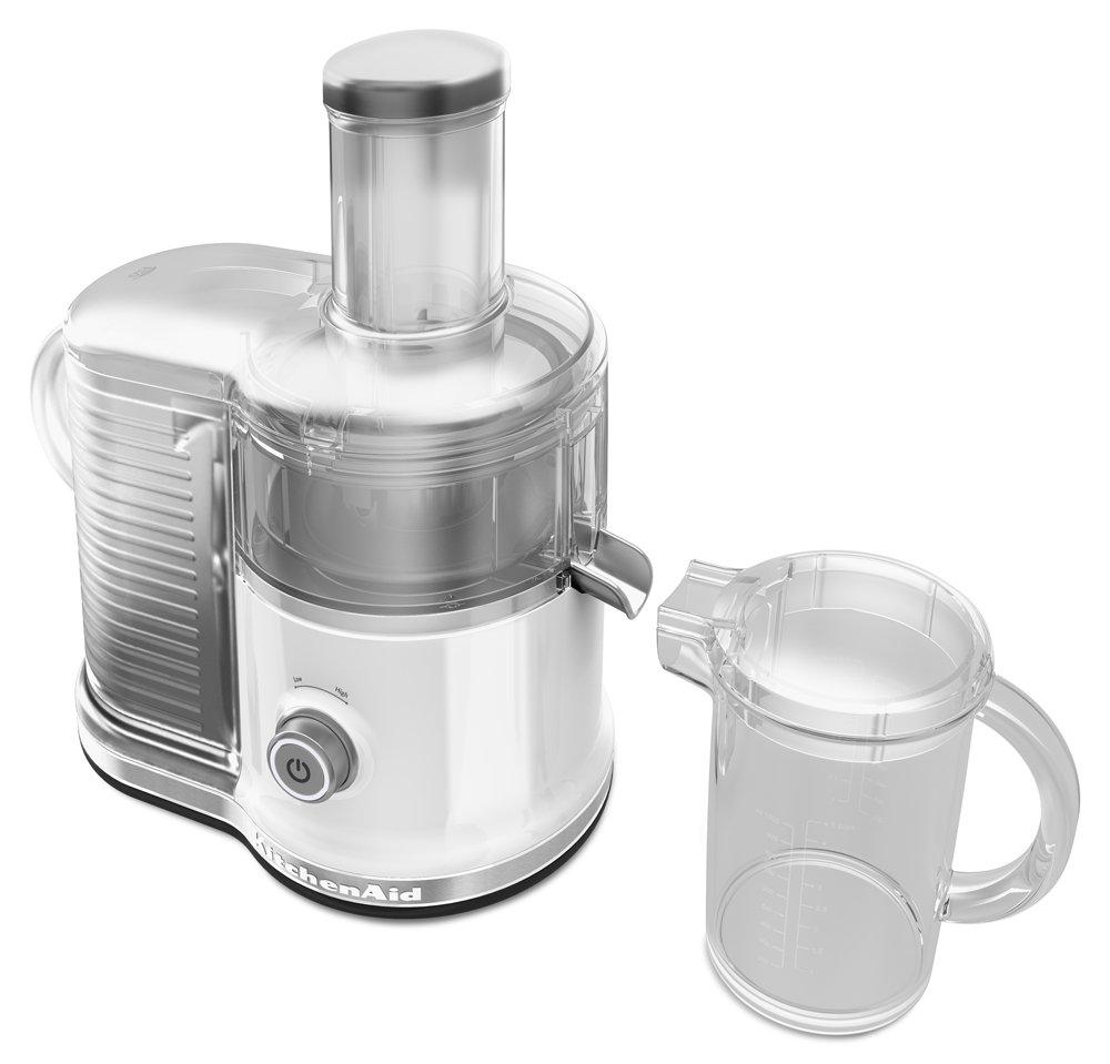 Amazon.com: KitchenAid KVJ0333WH Easy Clean Juicer, White: Kitchen ...