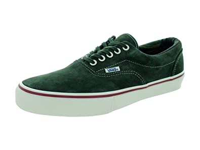dark green vans shoes