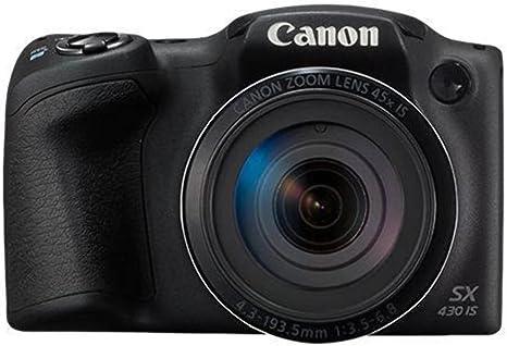 Canon PowerShot SX430 IS - Cámara compacta de 20 MP (Pantalla de 3 ...