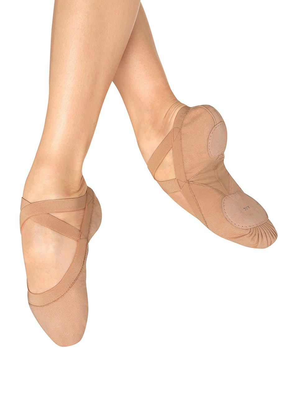 Bloch Women's Pro Elastic Ballet Slipper,Flesh,2.5 D US by Bloch