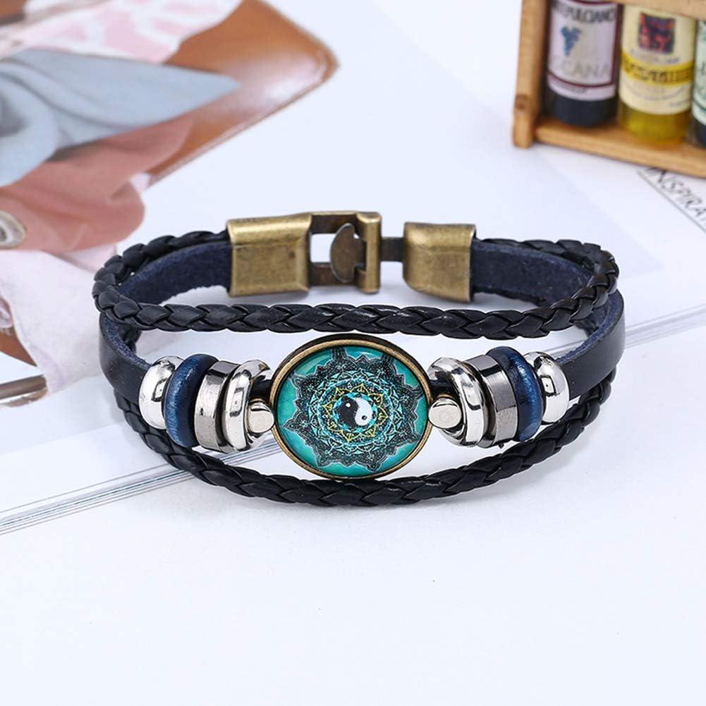 AIUIN Bracelet Chaine Style de gemme de Temps Bijoux Poignet d/écoration Romantique Cadeau de Mariage No/ël