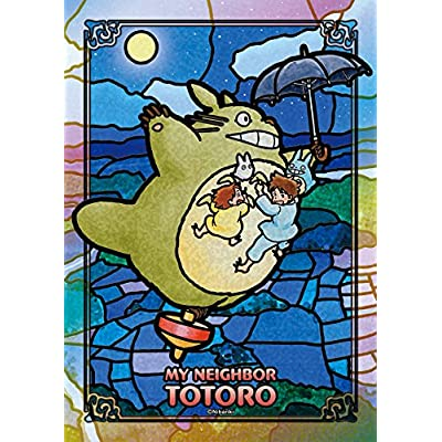 Ensky My Neighbor Totoro - Moonlit Stroll Art Crystal Jigsaw Puzzle (208 Piece): Toys & Games