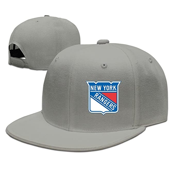 ac5a435b5a2964 New York Rangers Baseball Cap Adjustable Snapback Hip Hop Hat One Size  Male/Female Ash By JE9WZ: Amazon.ca: Clothing & Accessories