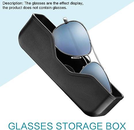 Soporte Para Gafas Automotrices Gafas De Sol Caja De Gafas De Almacenamiento Caja De Gafas Para Automóvil: Amazon.es: Bebé