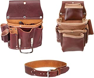 product image for Occidental Leather 5062 4 Pocket Pro Fastener Bag w/ 5070 Drywall Pouch & Belt M