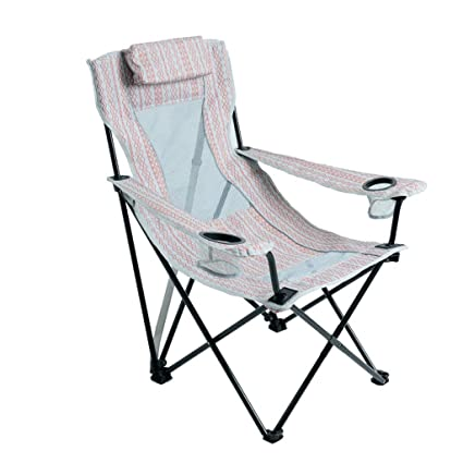Hjbh123 HJBH Material metálico Silla Plegable Camping Silla ...