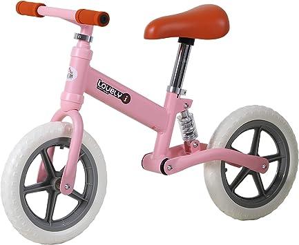 HOMCOM Bicicleta Sin Pedales para Niños Mayores de 2 Años ...