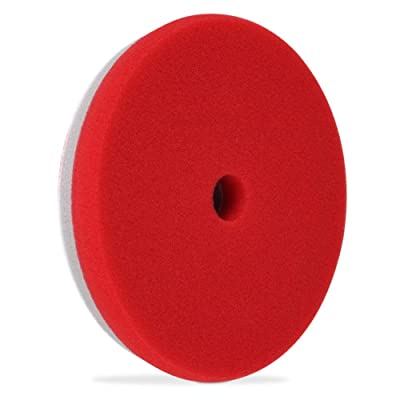"Liquid X Refine 6.5"" Finishing/Polishing Pad Dual Density Foam - Red (Polishing Pad): Automotive"