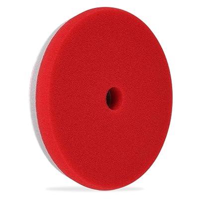 """Liquid X Refine 6.5\"""" Finishing/Polishing Pad Dual Density Foam - Red (Polishing Pad): Automotive [5Bkhe0810037]"""