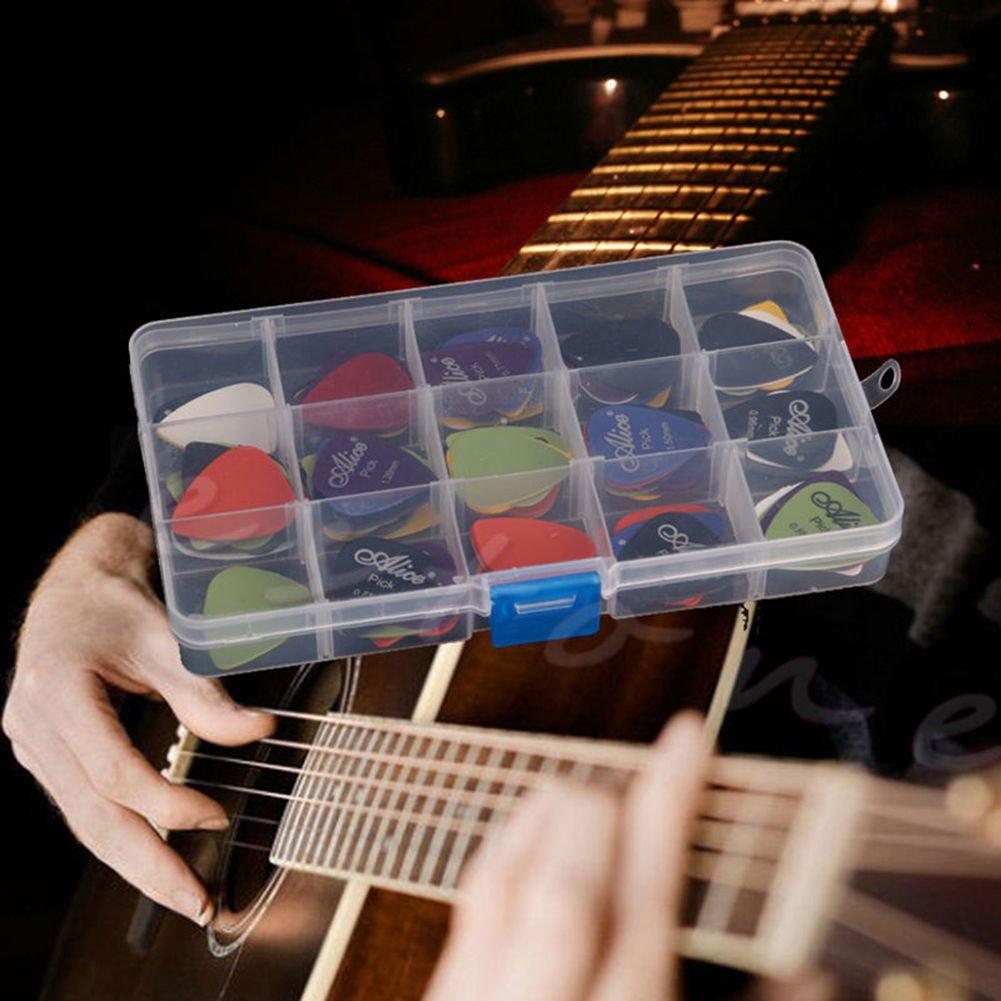 Malayas Púas de Guitarra Pack de 100 unidades Púas para Guitarra Eléctrica Acústica Española y Bajo Colores Lindos Surtidos 6 Grosores 0,58mm/0,71mm/0 ...