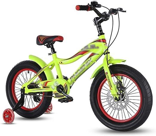 ZMDZA Bicicletas de los niños, los niños de 16 Pulgadas de la ...