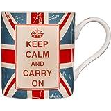 Home Essentials Keep Calm Mug Union Jack 14 OZ