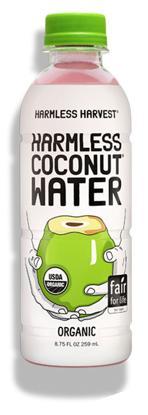 Harmless Harvest Organic Coconut Water, Original 8.75oz (Pack of 12)