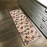 Custom Size Multicolor Butterflies Non-Slip Rubber Backed Hallway Carpet Runner Rug | 31-inch x 3-feet