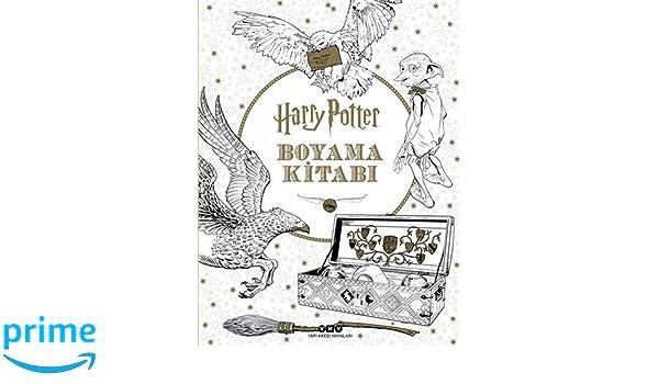 Harry Potter Boyama Kitabi Kolektif 9789750841859 Amazon Com Books