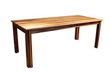 verlngerungsplatten brasilmbel table de salle manger en noyer massif taille xxl