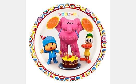 Amazon.com: Pocoyo Cumpleaños Comestible Decoración Para ...