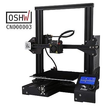 PYXZQW Impresora 3D Aluminio Prusa I3 DIY y recuperación de ...