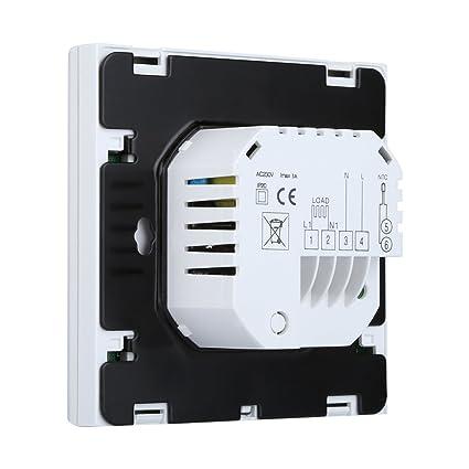 Wifi Digital Planta de agua de calefacción del termostato de ambiente programable LCD Display controlador de