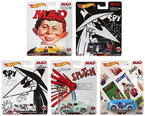 HOT WHEELS Hot Wheels Pop Culture mad magazine Mad magazine five complete set [parallel import goods] ()