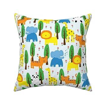 Amazon.com: Lydia Meiying - Cojín con diseño de tigre y ...