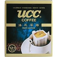 UCC 悠诗诗 法式深焙滴滤式咖啡粉 (8g*12) 96g(台湾原产)