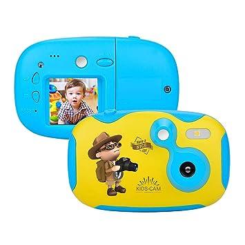 HYDDG para niños Cámara con 1,44 Pulgada Monitor Mini ...